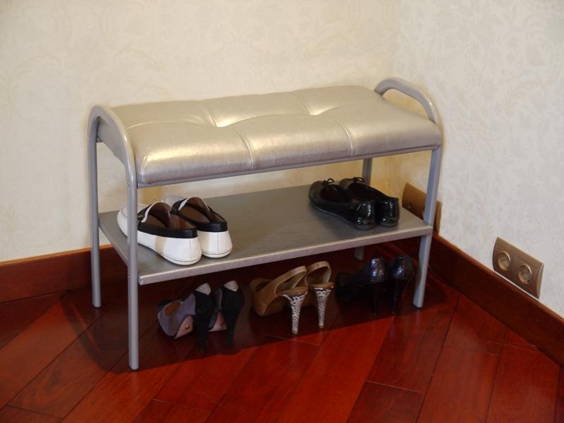 Тумба-пуфик для обуви в прихожую